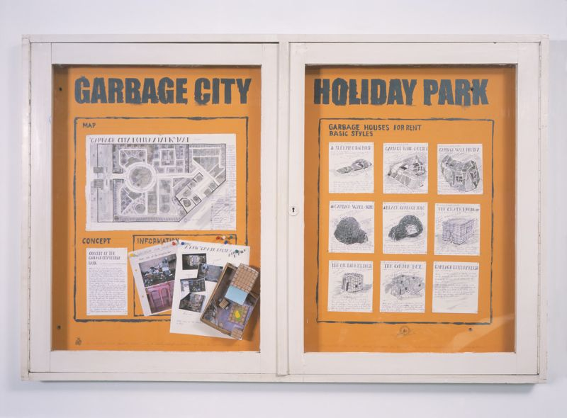 You are browsing images from the article: GARBAGE CITY HOLIDAY PARK IN EXH. GREEN SUMMER
